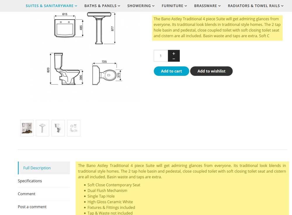 HikaShop - Product intro information - HikaShop