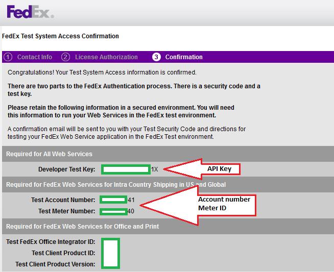 HikaShop - FedEx Authentication Failed - HikaShop