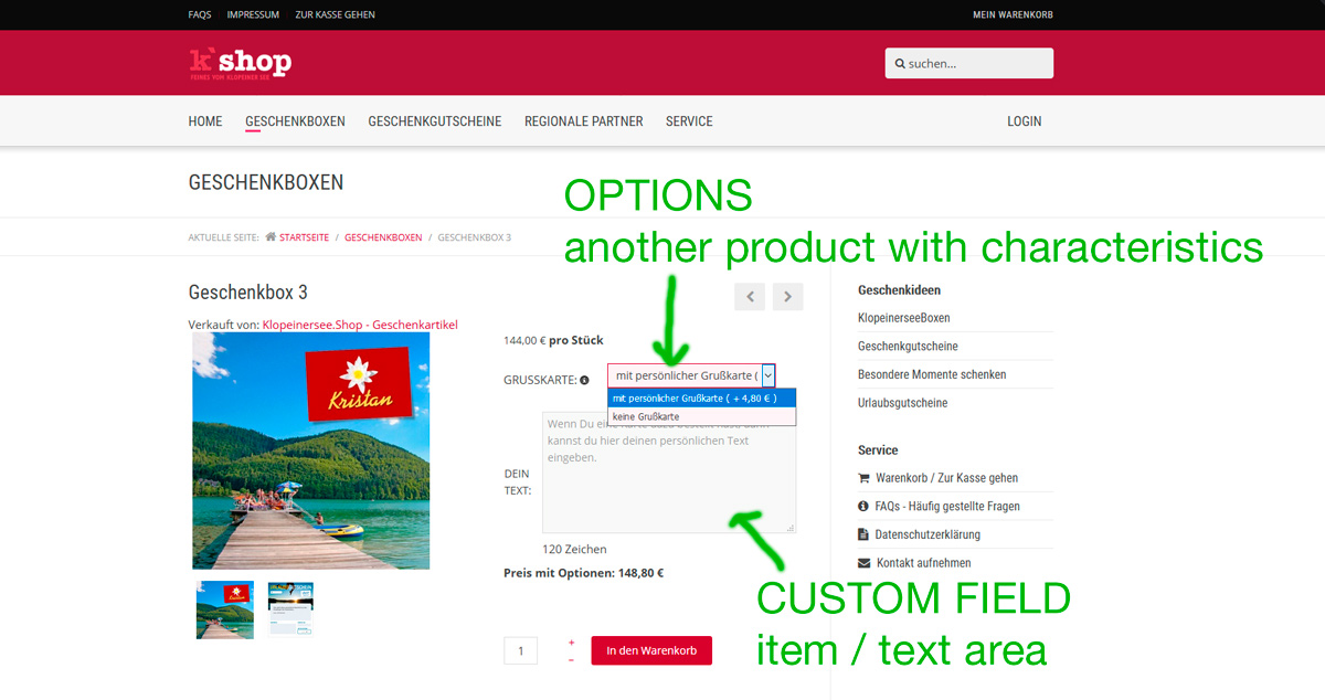 HikaShop - How to combine product variants with custom field - HikaShop