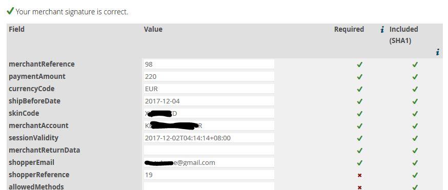 HikaShop - anyone running ADYEN payment gateway successfully? - HikaShop