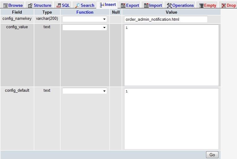 HikaShop - Order details to Admin email address - HikaShop